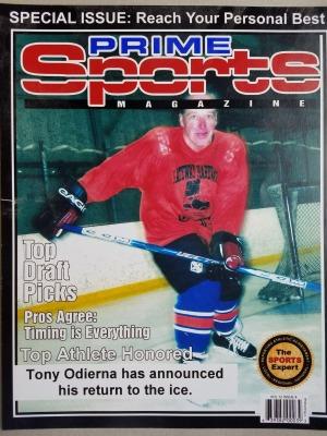 Hockey Spotlight on Tony O.